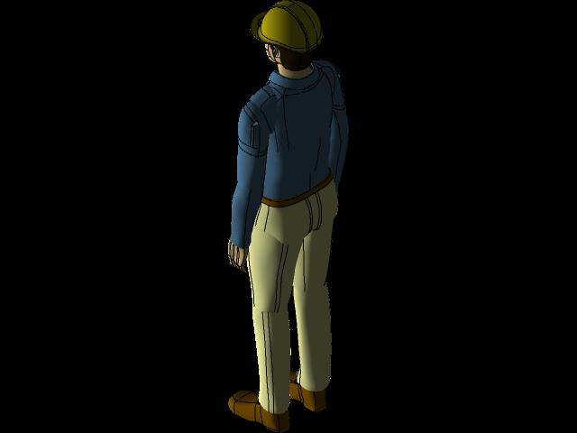 人3D打印模型
