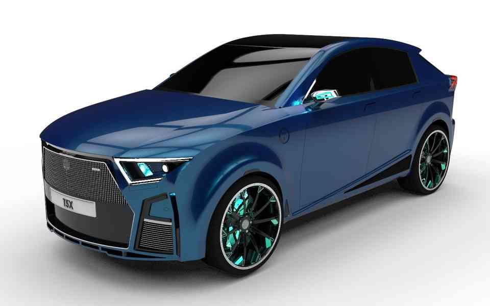 TBO T5X第一阶段2020道口3D打印模型插图1