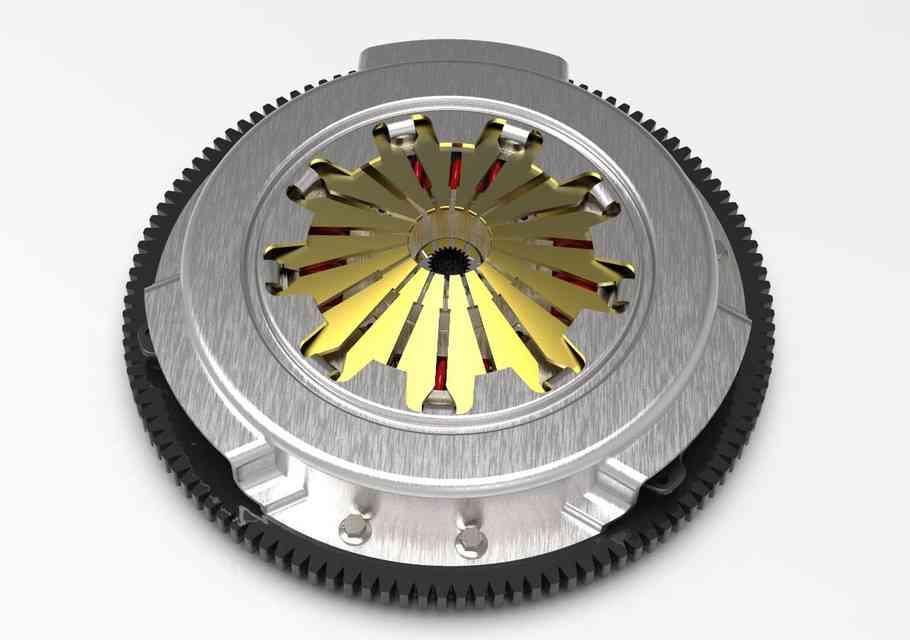 单盘离合器3D打印模型