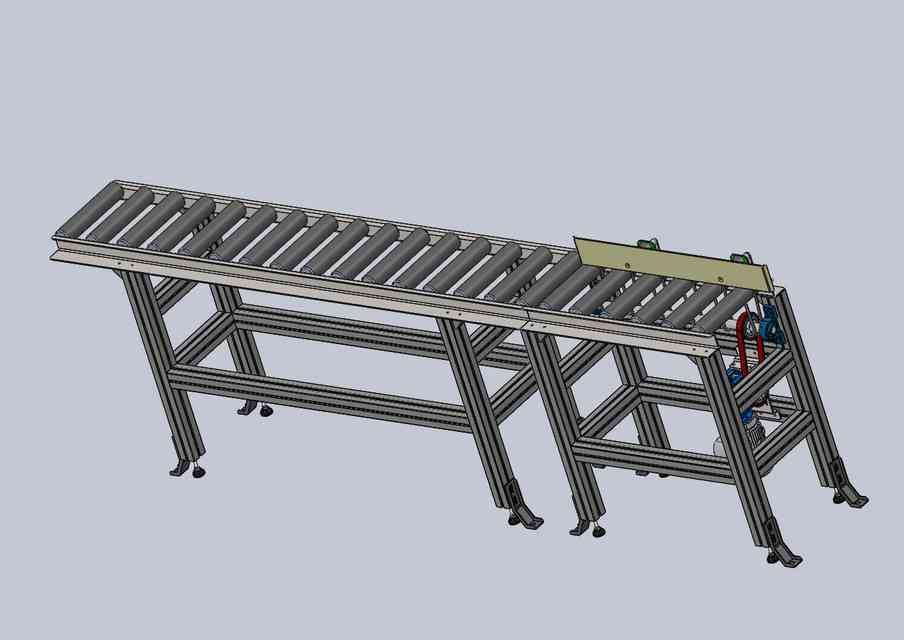 输送带3D打印模型插图1