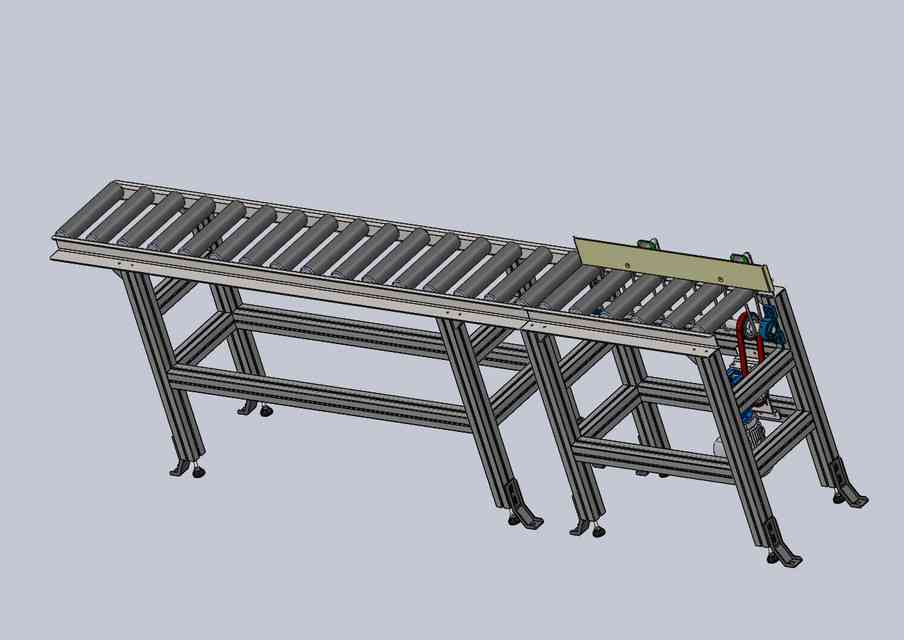 输送带3D打印模型