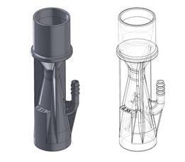 新冠状病毒呼吸器,用于3D打印 1