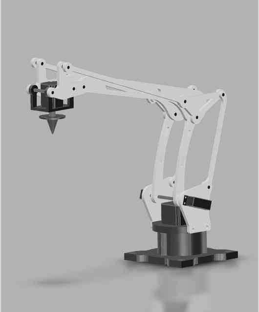 DELTA ARM3D打印模型插图1