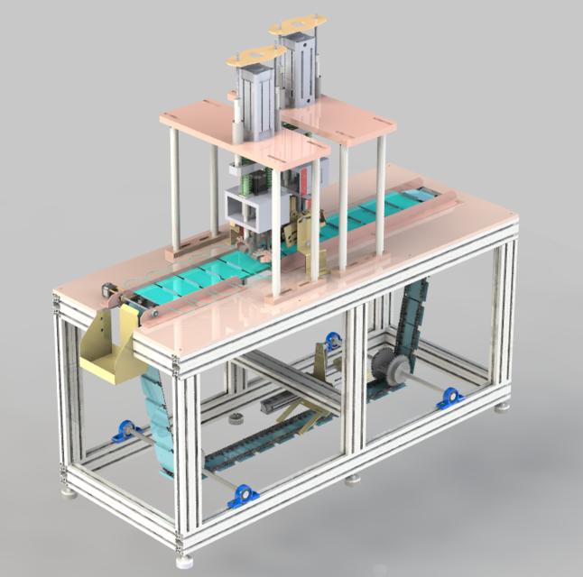 【3D资源巴】口罩绳拼接机3D模型插图1