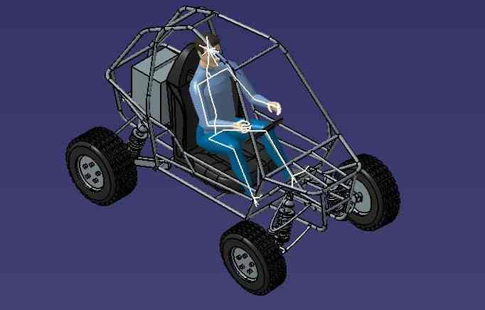 亚视和卡丁车3D打印模型 1
