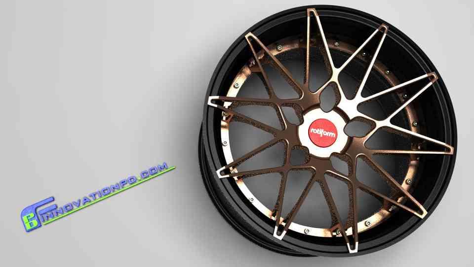 3件锻造轮入门包3D打印模型插图1