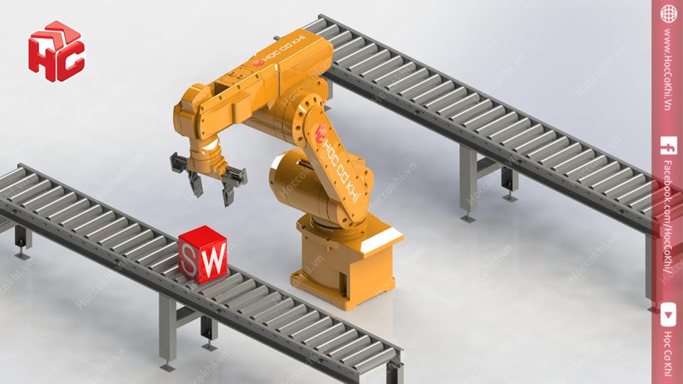机器人手臂3D打印模型