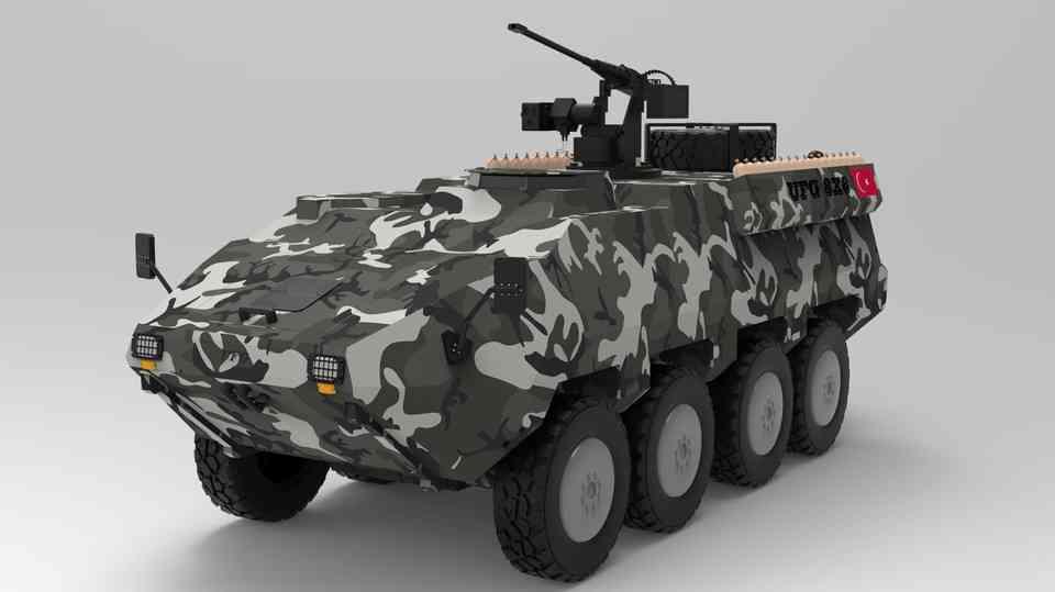 UFG-8X8(在土耳其)3D打印模型插图1