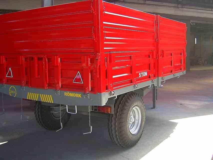 6吨拖车3D打印模型