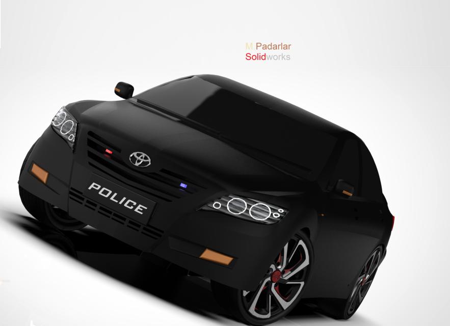 丰田佳美3D打印模型插图1