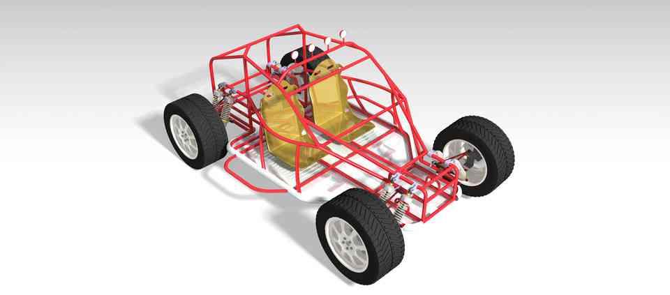 电瓶车3D打印模型插图1