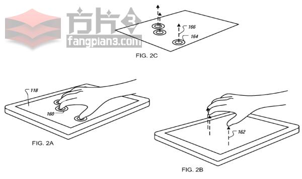苹果获得一项在触摸屏上通过手势操控和制作3D对象的技术专利插图1