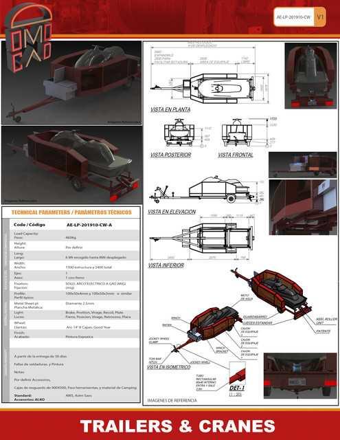 Domocad3d拖车起重机3D模型免费下载插图1