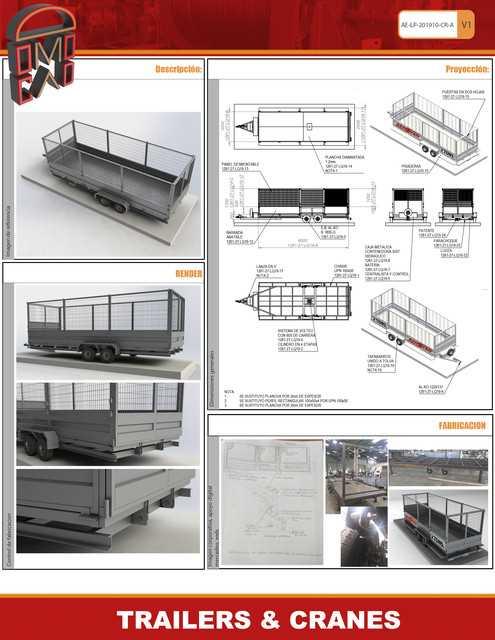 Domocad3d拖车起重机STL模型插图1