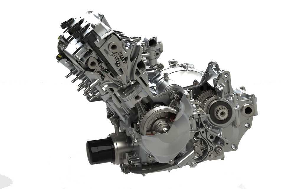 本田CBR600 F4i引擎3D打印模型下载插图1
