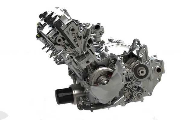 本田CBR600 F4i引擎3D打印模型下载
