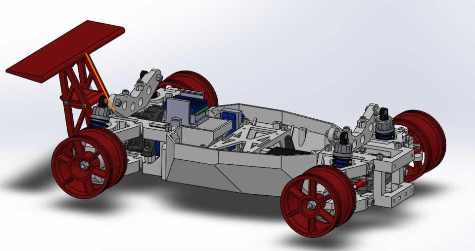 3D打印遥控车STL模型下载插图1