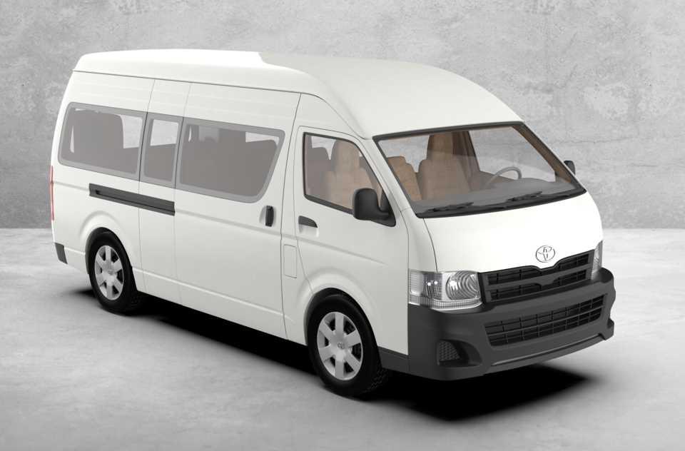 丰田Hiace 20123D打印模型插图1