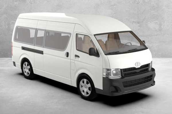 丰田Hiace 20123D打印模型