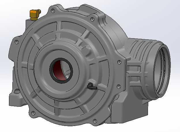 北极星RZR前齿轮箱/差速器STL模型下载插图1