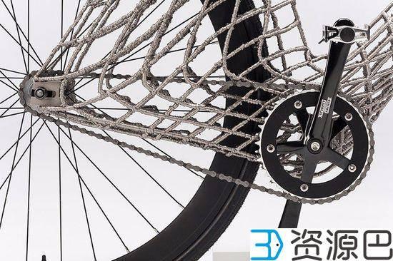 """""""骑行者""""新玩法 3D打印不锈钢自行车 3"""