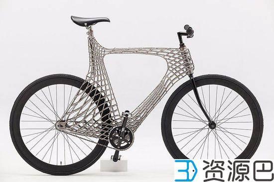 """""""骑行者""""新玩法 3D打印不锈钢自行车 1"""