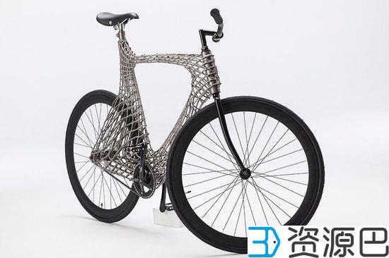 """""""骑行者""""新玩法 3D打印不锈钢自行车 2"""