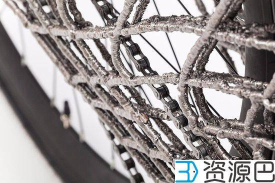 """""""骑行者""""新玩法 3D打印不锈钢自行车 4"""