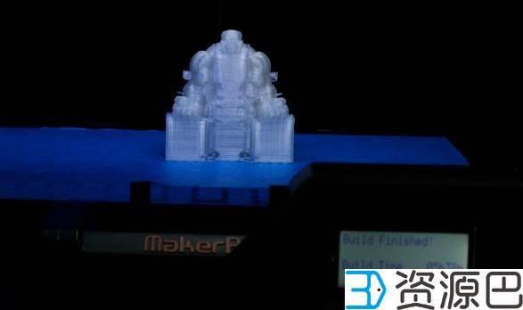 前沿技术尝试,3D打印绿巨人,手涂上色插图3