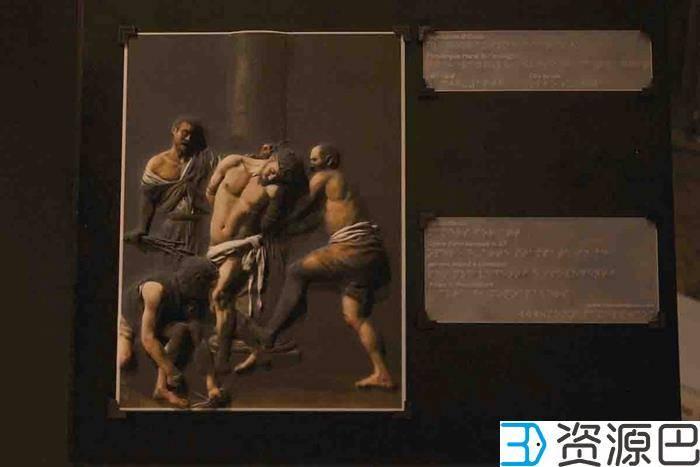 可触摸的光与影的绝响:3D打印名画《被鞭挞的基督》插图5