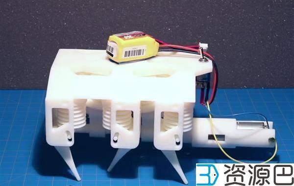 液压3D打印:让机器人从3D打印机走出来插图1
