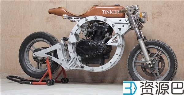3D打印:无需焊接便能自己组装完成的摩托车插图1
