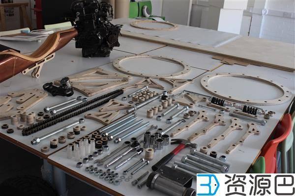3D打印:无需焊接便能自己组装完成的摩托车插图7