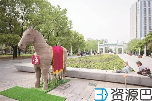 "3D打印""汉马""走秀 为武汉马拉松加油插图1"