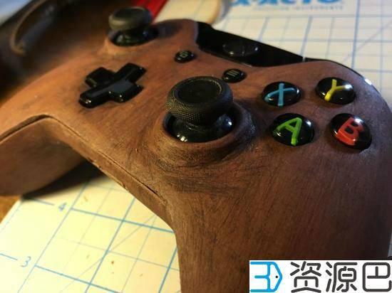 木头3D打印Xbox手柄你玩过吗?插图3