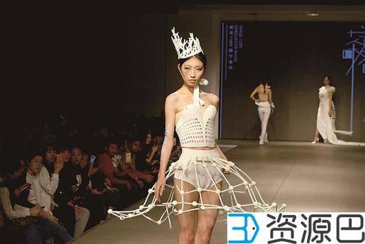 """大学毕业生设计3D打印服装:""""白骨""""也性感插图7"""