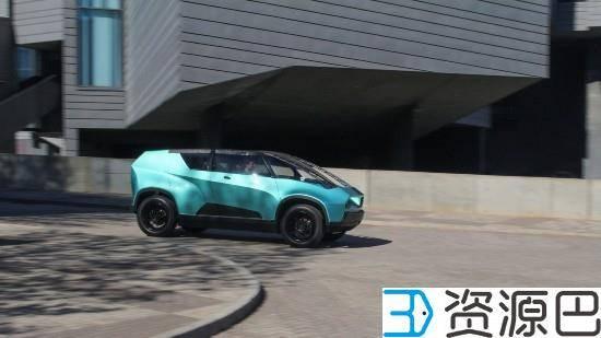 丰田发布uBox城市概念车 车身可用3D打印插图7