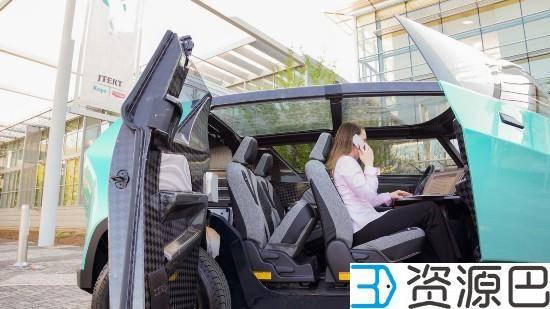 丰田发布uBox城市概念车 车身可用3D打印插图3