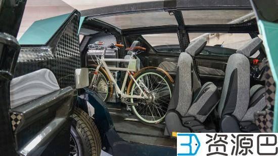 丰田发布uBox城市概念车 车身可用3D打印插图5