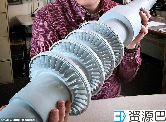 GE用3D打印开发的桌面大涡轮机可为一个小镇供电插图3