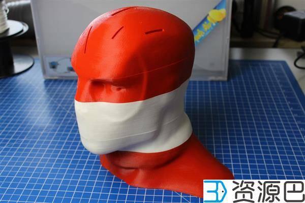 巧手主妇3D打印死侍刀座引爆Instructables插图7