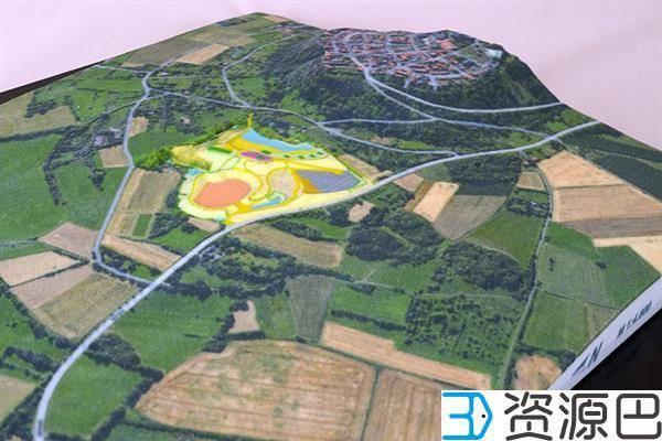 缩小的世界——3D打印地形图模型插图5