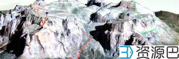 缩小的世界——3D打印地形图模型插图11