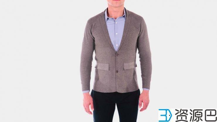 无缝3D打印外套 你有试穿吗?插图3
