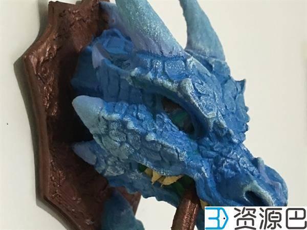 西班牙艺术家打造极具年代感的3D打印龙头门环插图7