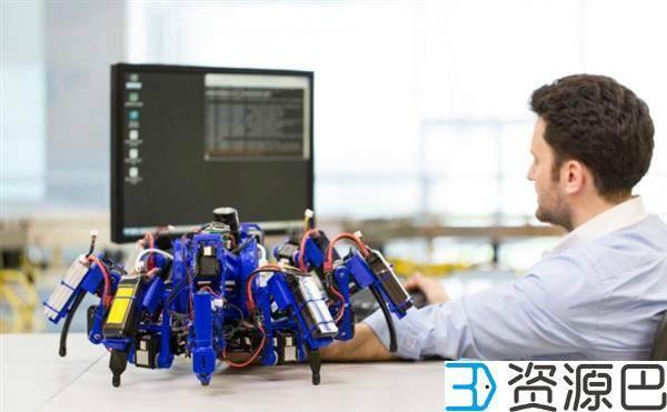 西门子3D打印蜘蛛机器人 原料来自玉米插图3