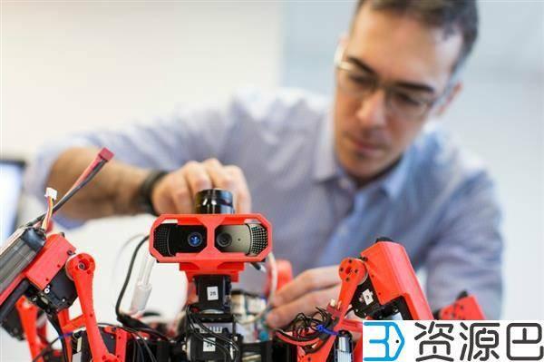 西门子3D打印蜘蛛机器人 原料来自玉米插图1