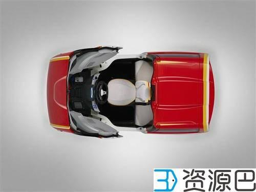 壳牌3D打印城市概念车 百公里油耗2.6升插图3