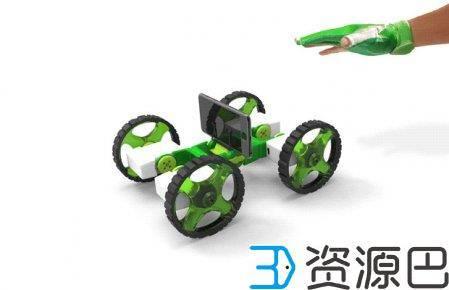 Ziro智能手套让您轻松遥控3D打印的机械装置插图1