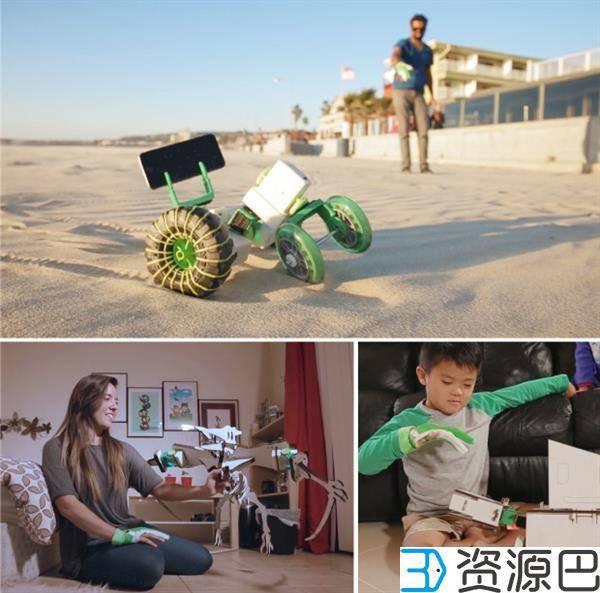 Ziro智能手套让您轻松遥控3D打印的机械装置插图9